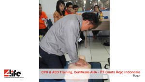 Training CPR & AED  Certificate American Heart Association / AHA