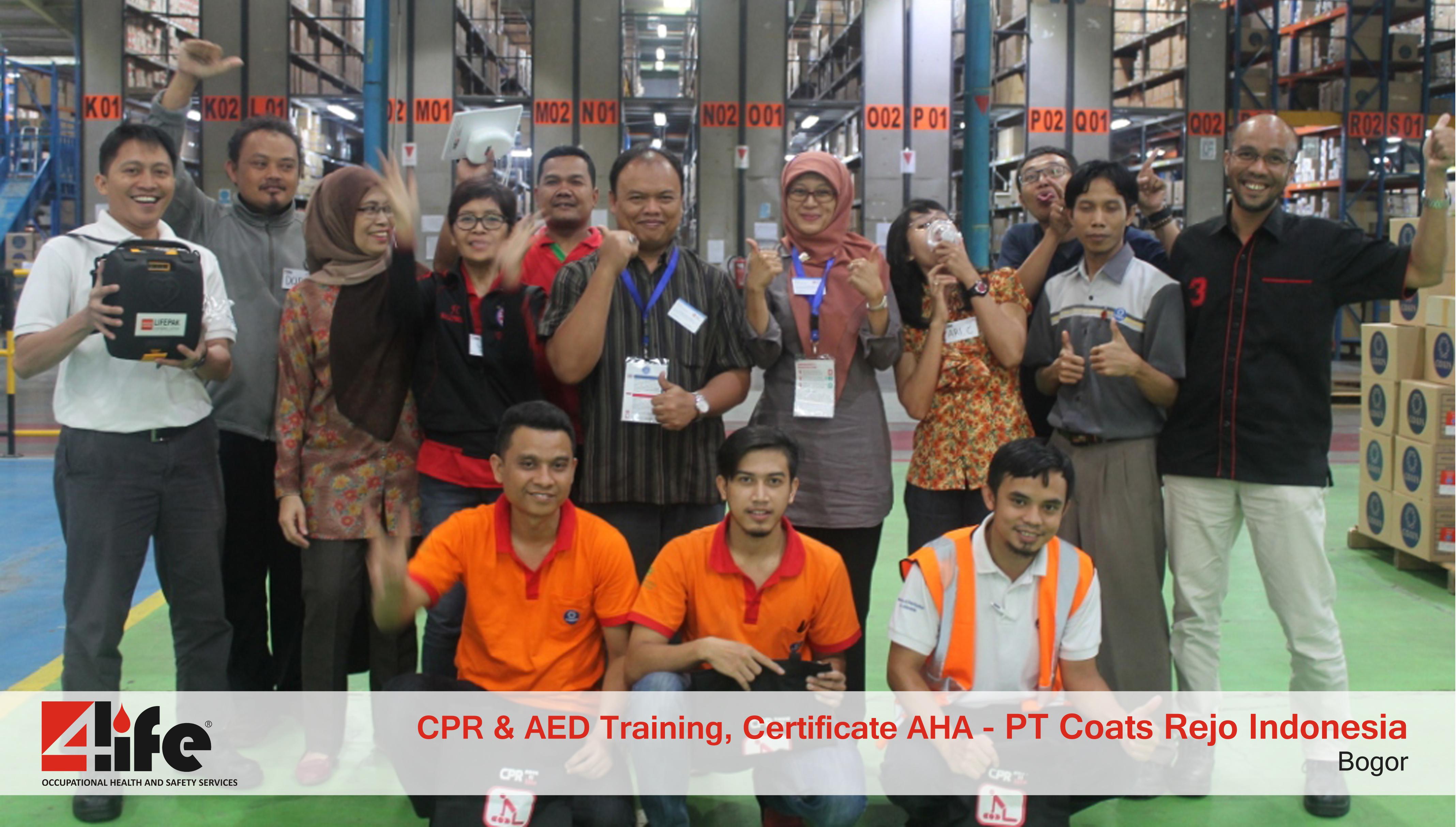 Tempat Training P3K di YKK Indonesia Ziper