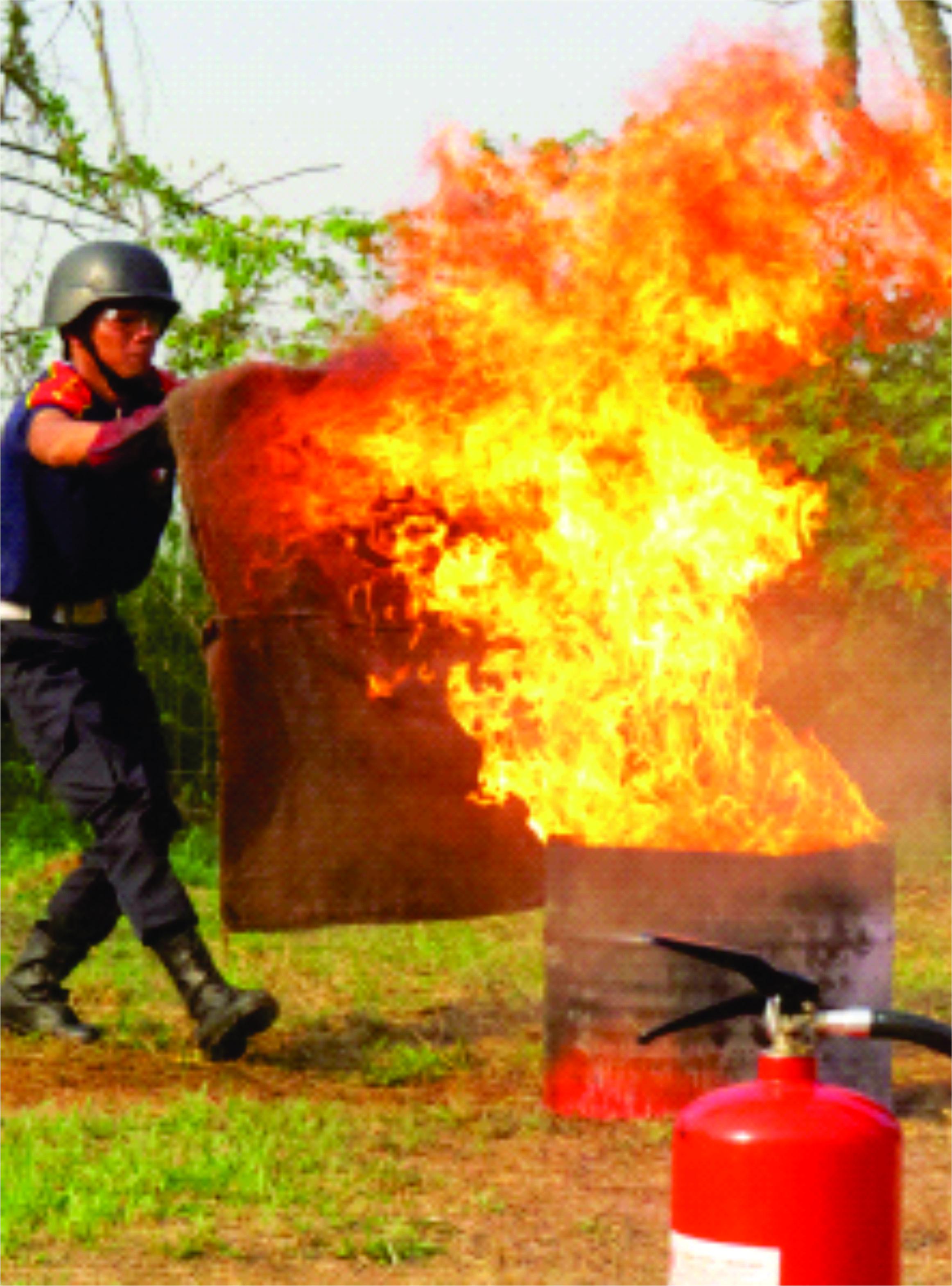 Tempat Training Pemadam Kebakaran di Bogor