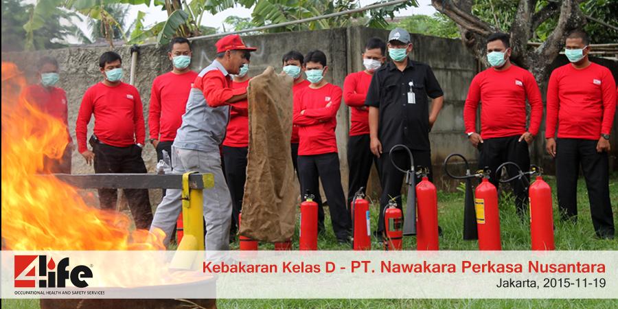 Sertifikasi Training Pemadam Kebakaran di Kupang