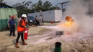 Tempat Training Pemadam Kebakaran di Samarinda