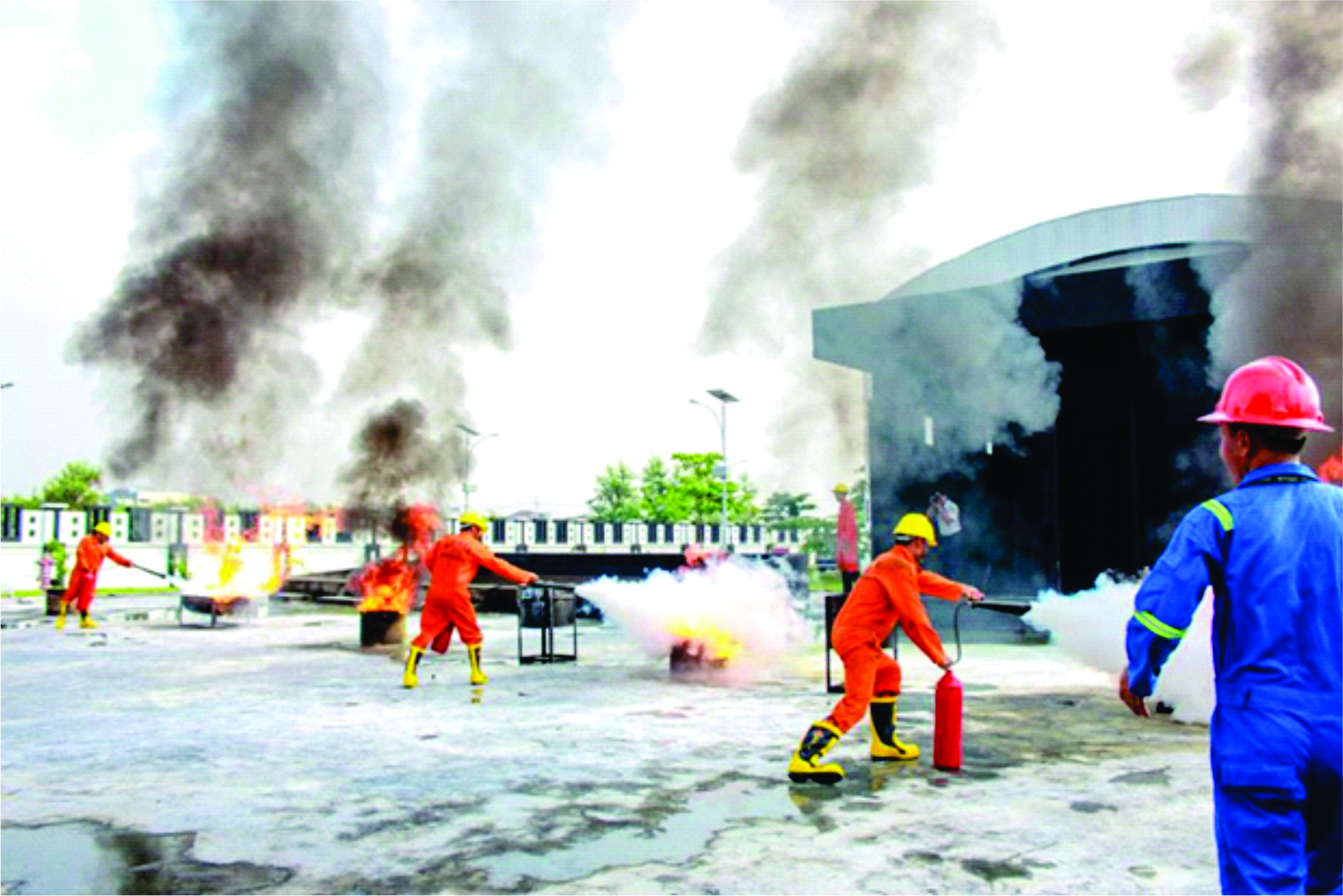 Tempat Pelatihan Pemadam Kebakaran di Banjarmasin